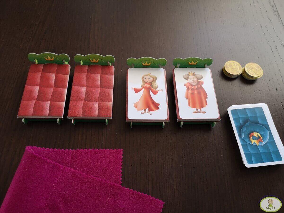CAJA del juego de mesa Pijamas a la cama de Mercurio