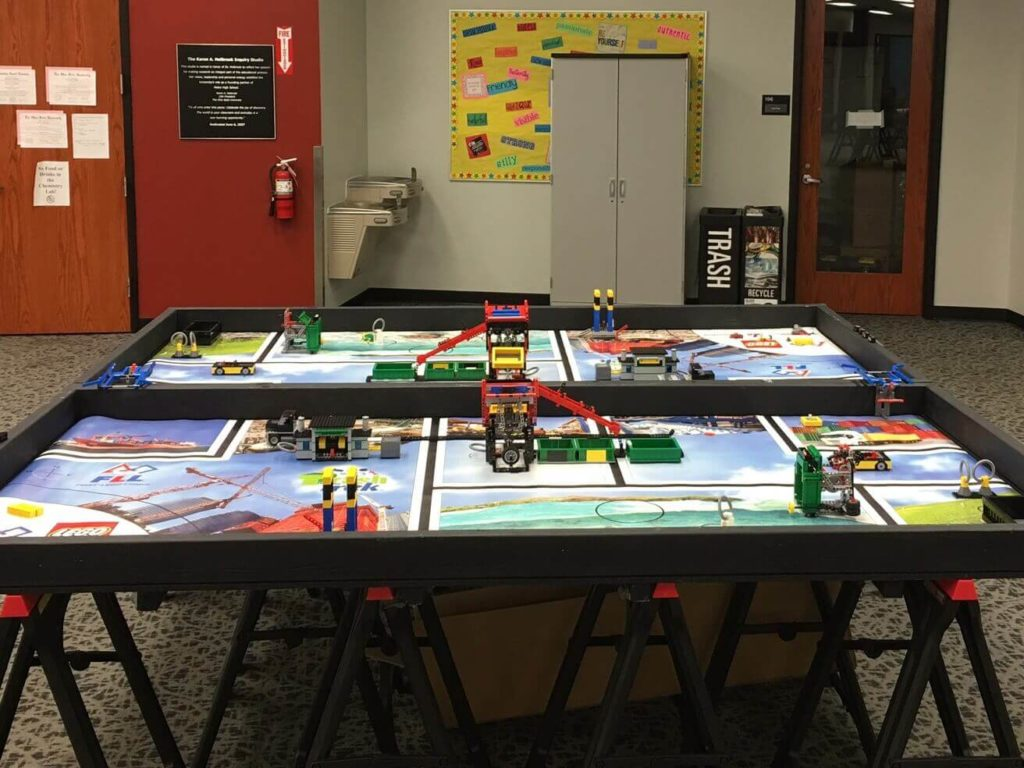 Tableros de entrenamiento para la First LEGO League