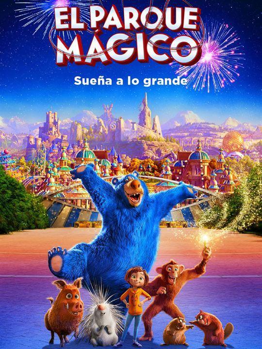 Poster película El Parque Mágico (Wonder Park)