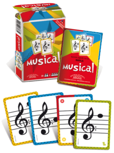 Baraja Musical Sauquet cartas