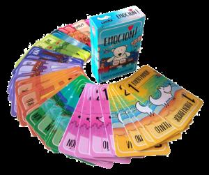 cartas juego de mesa Emoción Inteligencia emocional