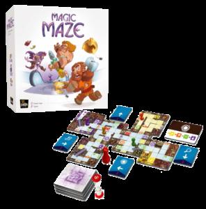 juego de mesa cooperativo Magic Maze