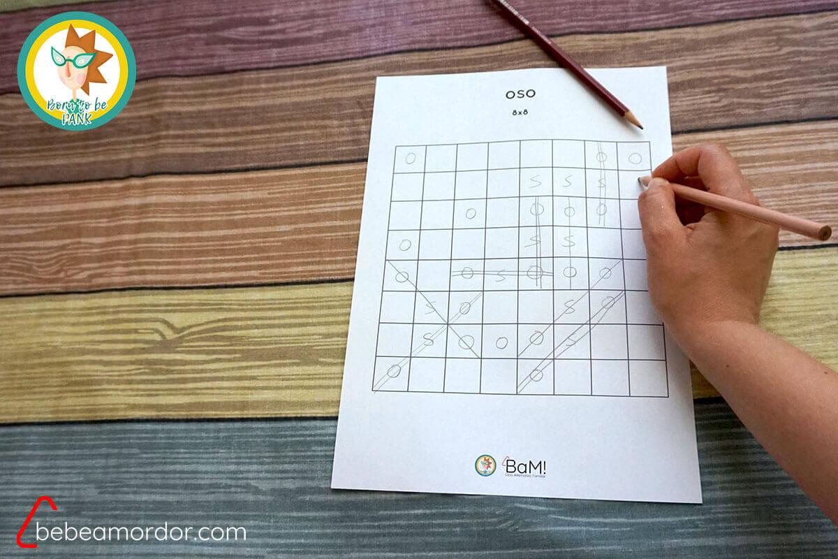 juegos con lápiz y papel OSO