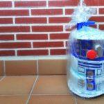 DIY Manualidades frikis tarta de pañales de Star Wars
