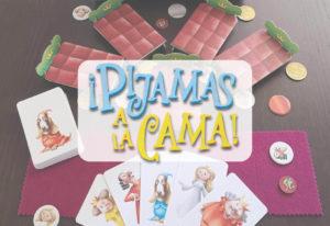 portada reseña cómo se juega al juego de mesa Pijamas a la cama de Mercurio
