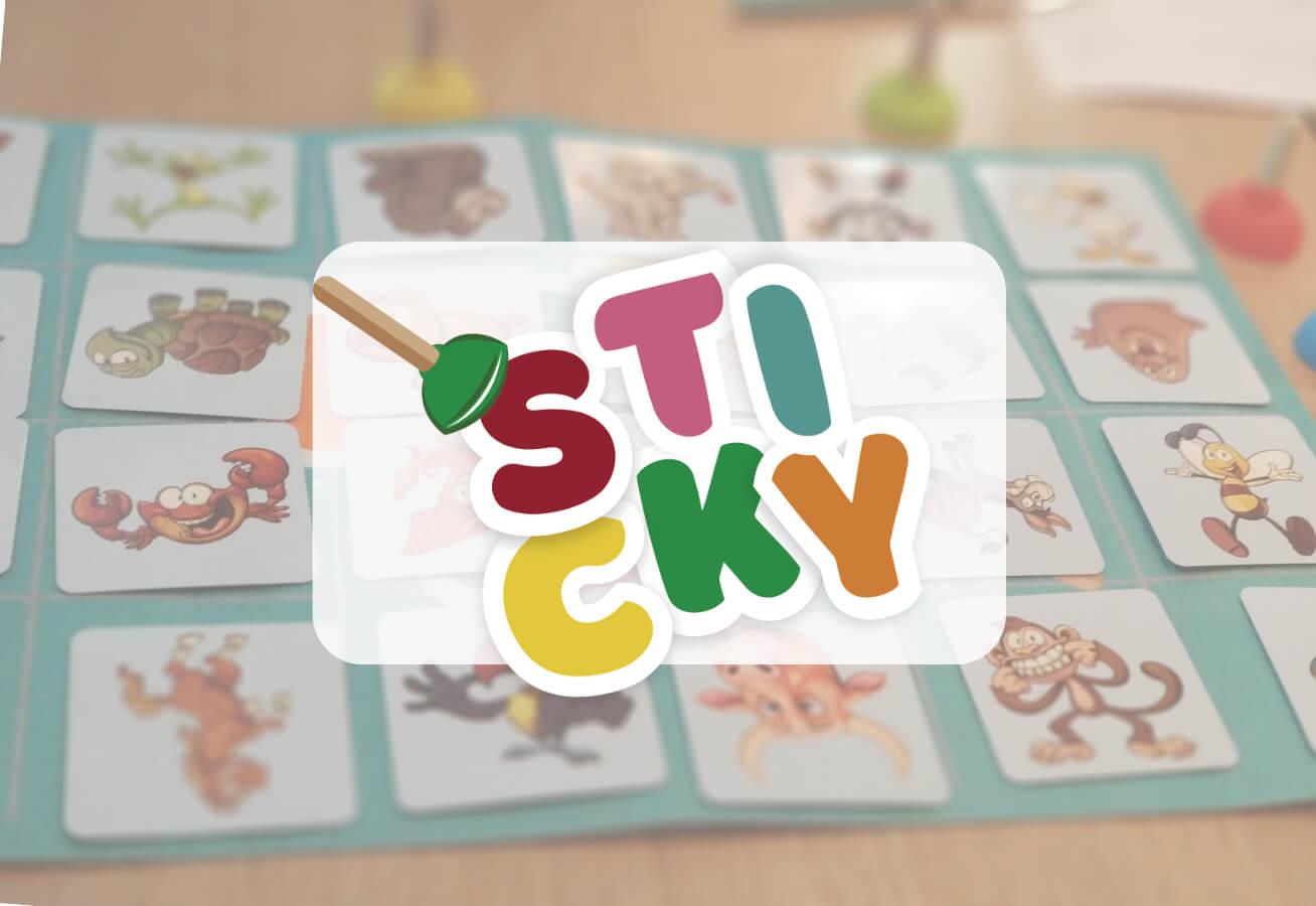 portada reseña juego de mesa Sticky Cayro