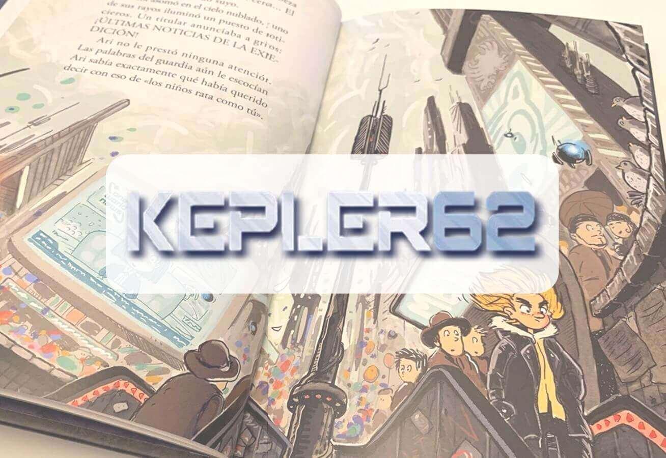 portada reseña libro 9 años Kepler 62