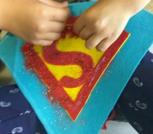 Logo de Superman DIY