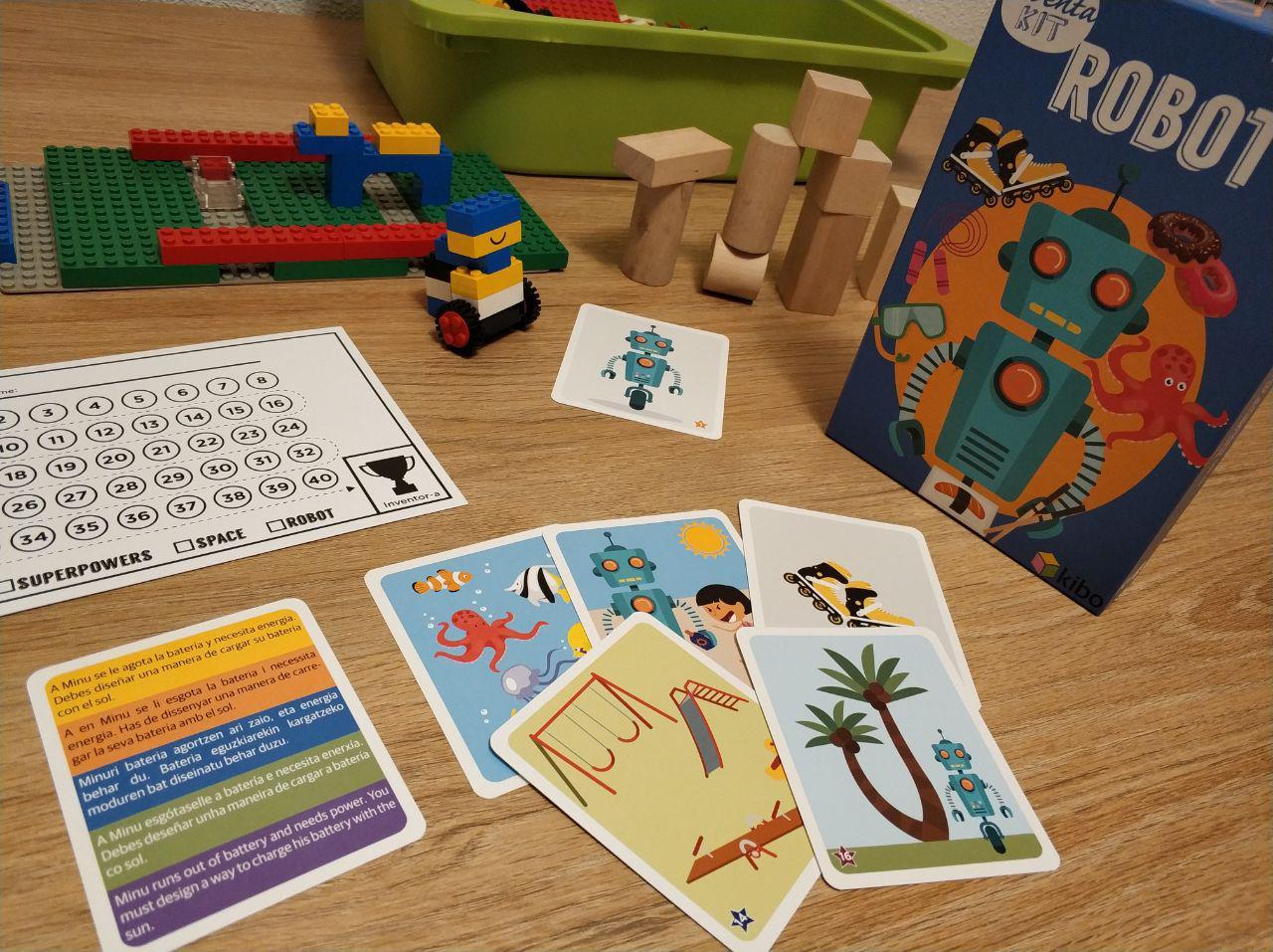 juegos para fomentar la creatividad Inventa Kit Space