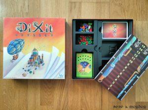 Caja y cuna Dixit Oddysey componentes