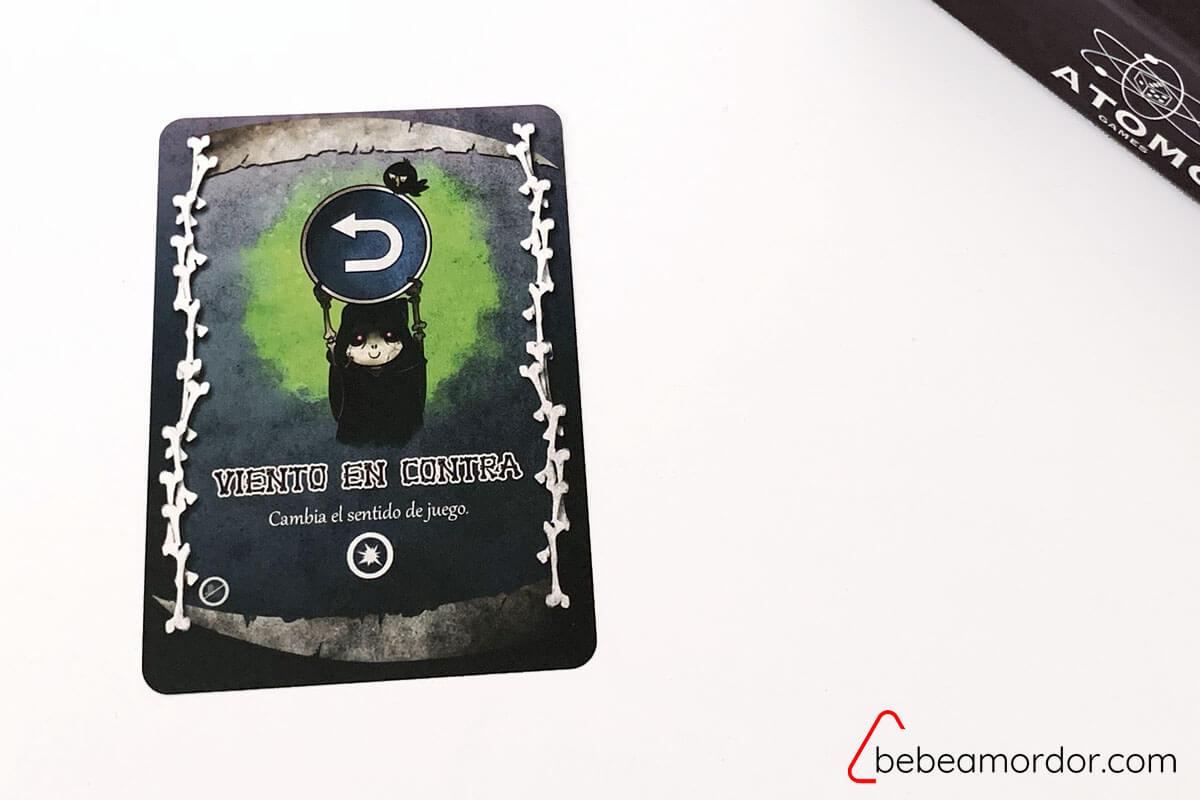 El Mortal 7 ejemplo carta que no se juega para dos jugadores