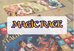 reseña cómo se juega al juego de mesa Magic Race de Mercurio
