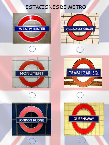 Estaciones de metro para niños coleccionistas Londres