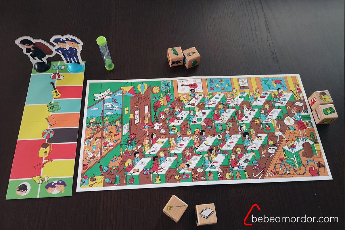 Preparación juego Sam