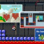 Super Mario Maker 2 – carteles en las pantallas online