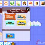 Super Mario Maker 2 – creación distintos mundos