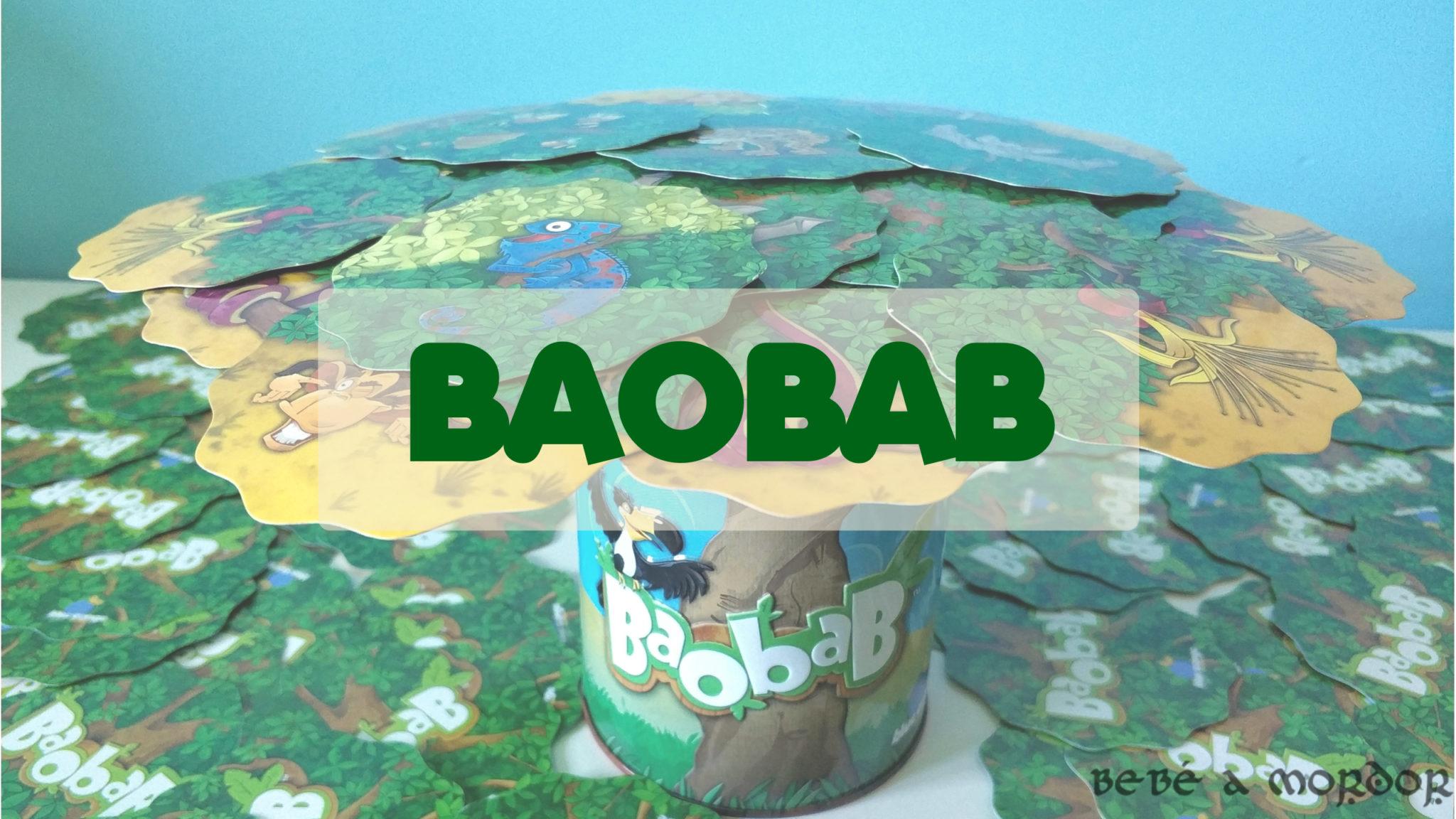 Reseña juego de mesa Baobab de Mercurio