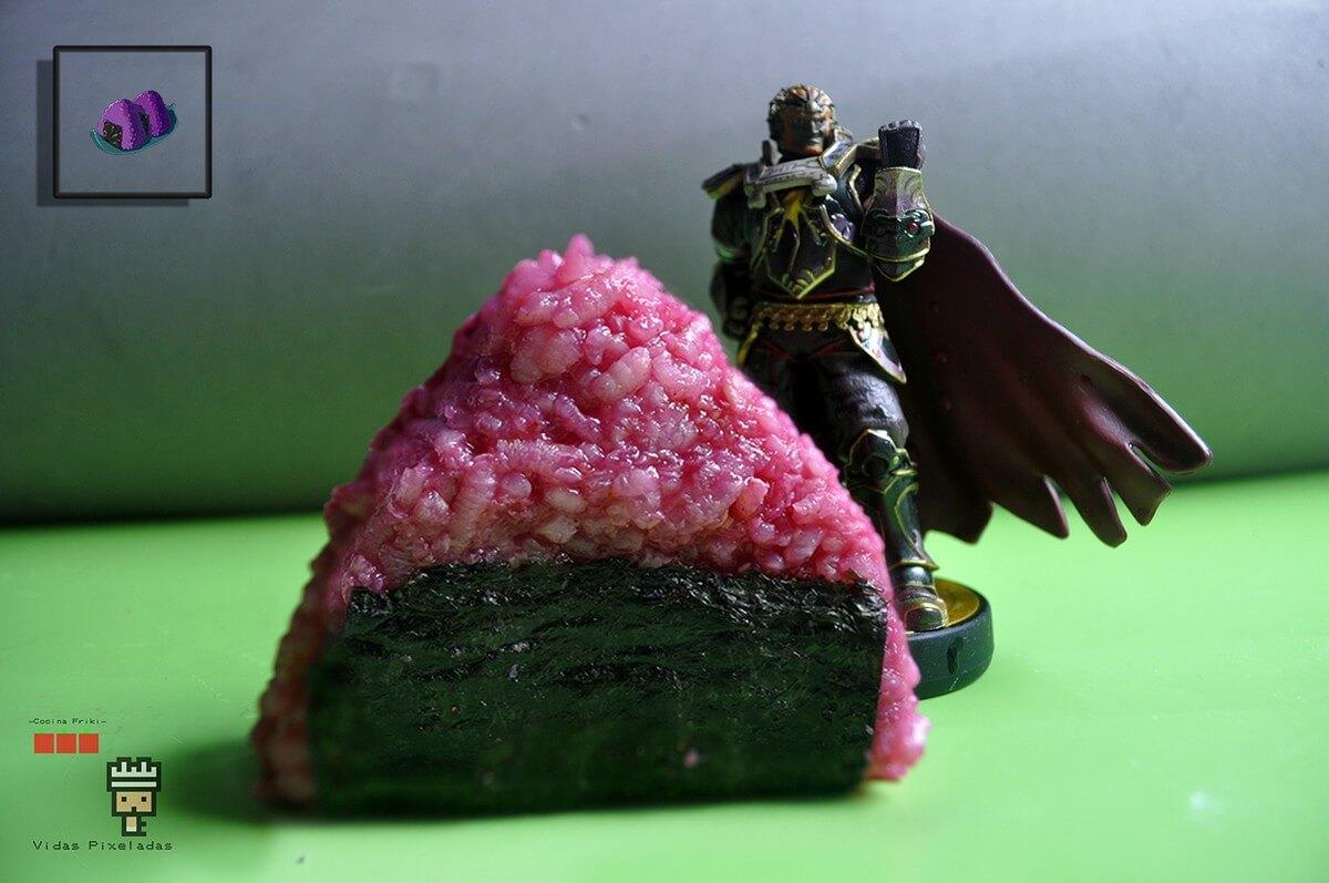 bolas de arroz Zelda monstruo