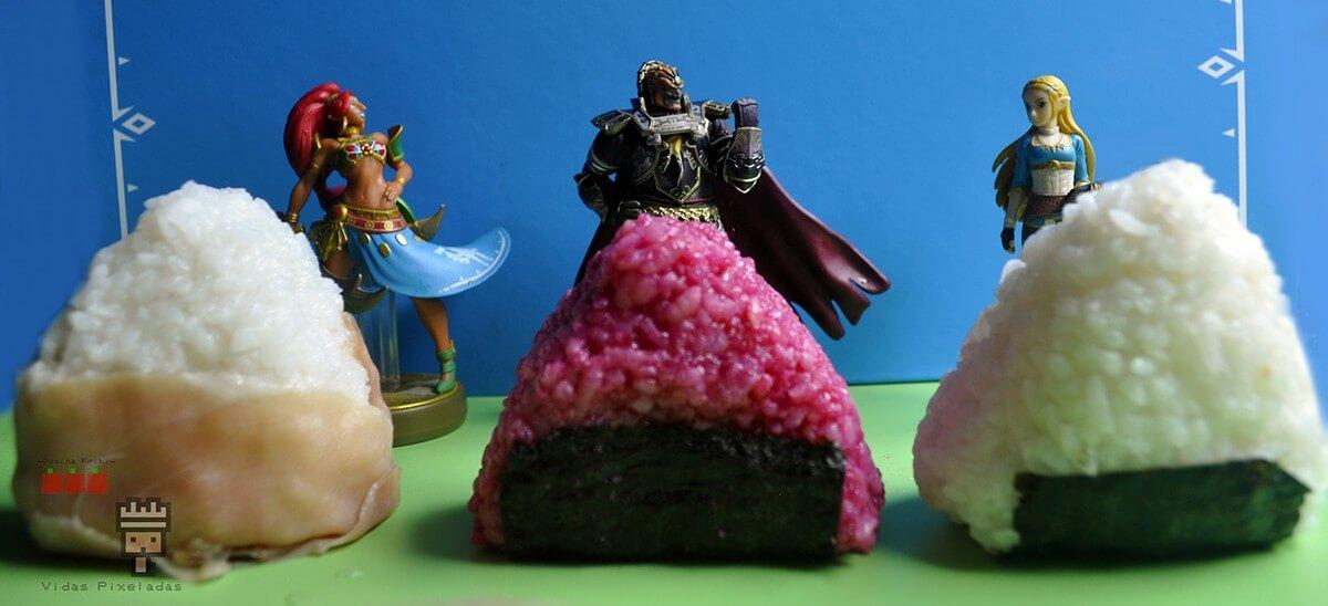 recetas inspiradas en Zelda bolas de arroz