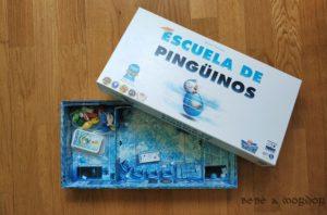 caja y componentes Escuela de Pingüinos