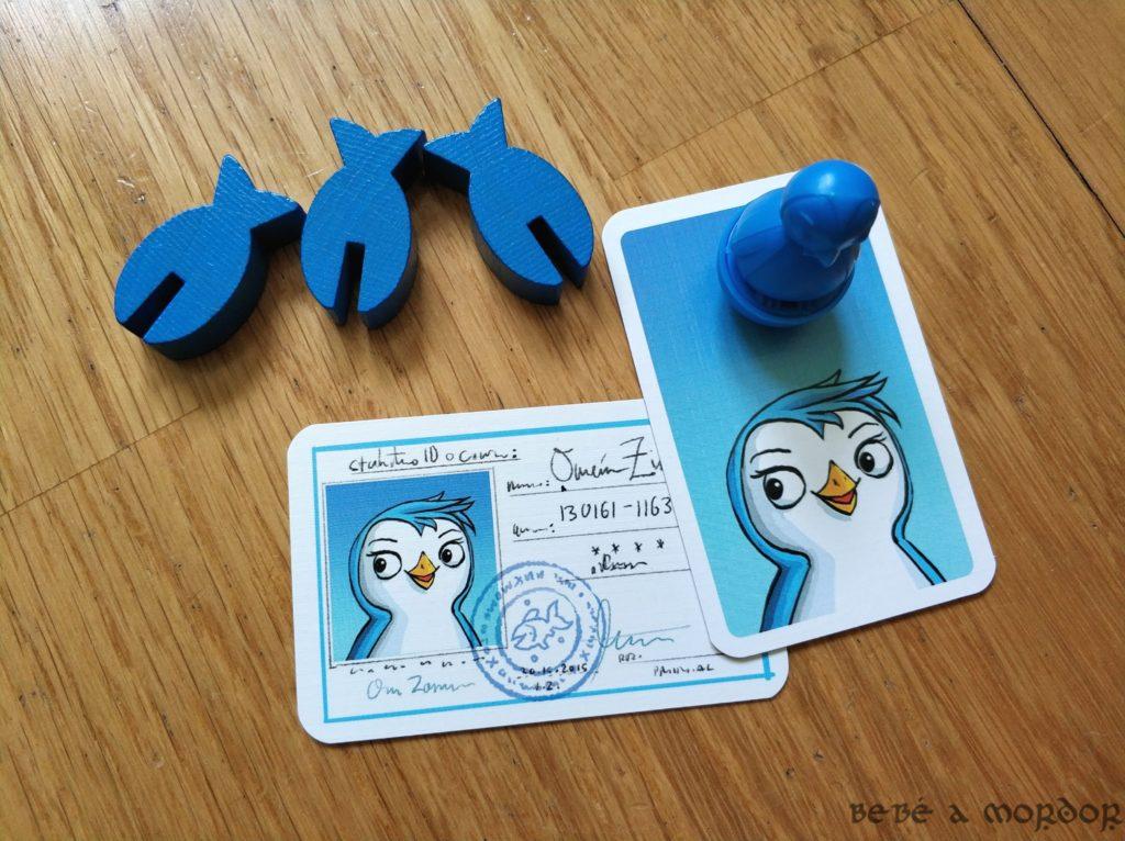 componentes y tarjetas Escuela de Pingüinos