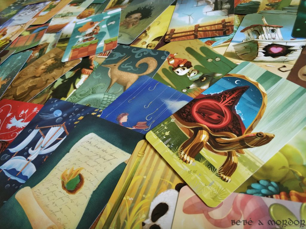 dibujos cartas Dixit juego de mesa
