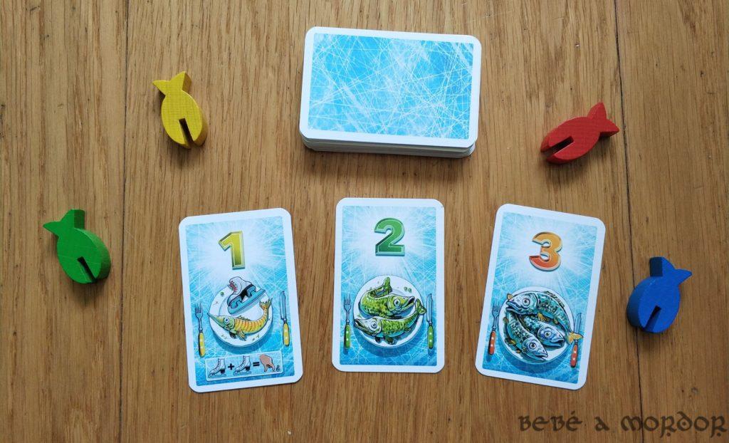 fichas y cartas de peces en Escuela de Pingüinos