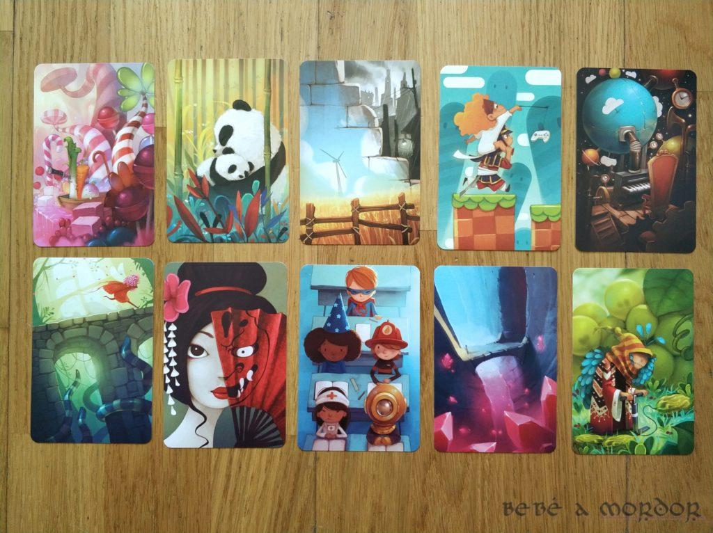 ilustraciones expansión Dixit 6 Memories