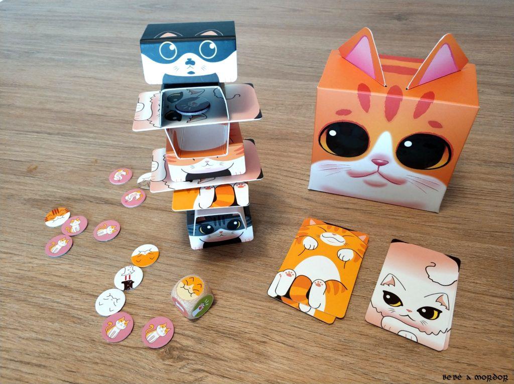 juego de mesa Torre de gatos de Tranjis Games