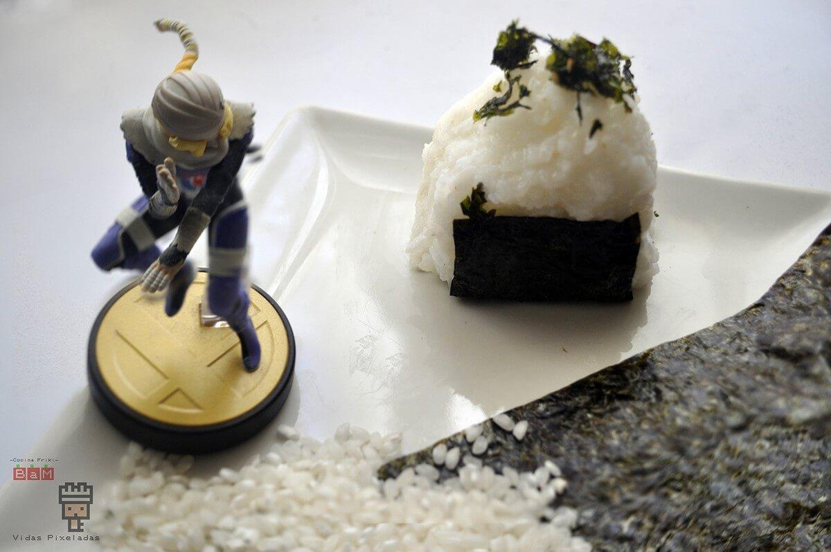 onigiri con Sheik de Zelda