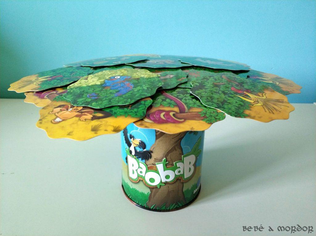 packaging juego de mesa Baobab