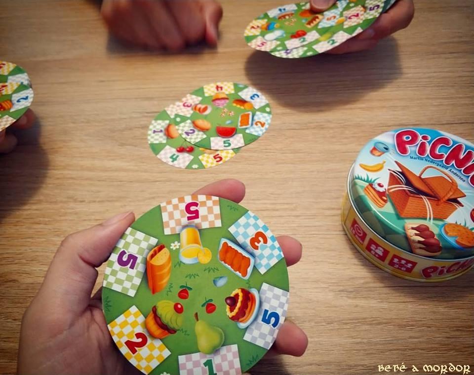 juego de mesa Picnic Devir