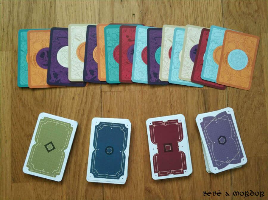 Anverso y reverso cartas Nimble