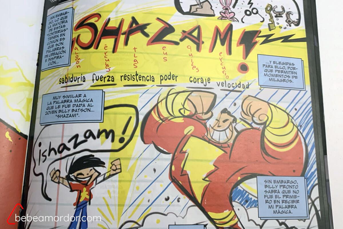 ¡Shazam! La palabra mágica
