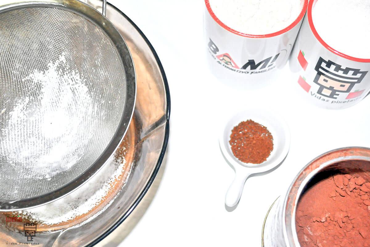 Ingredientes receta del pastel de Portal