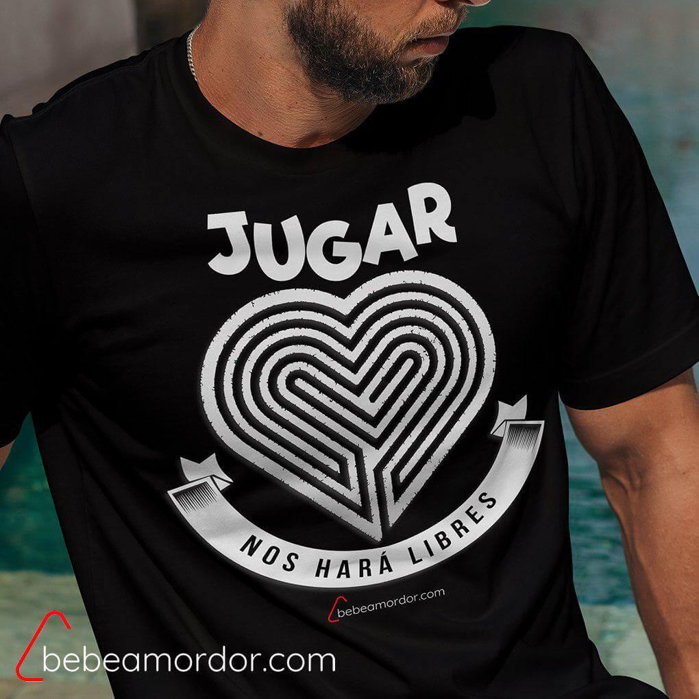 camiseta friki para amantes de los juegos