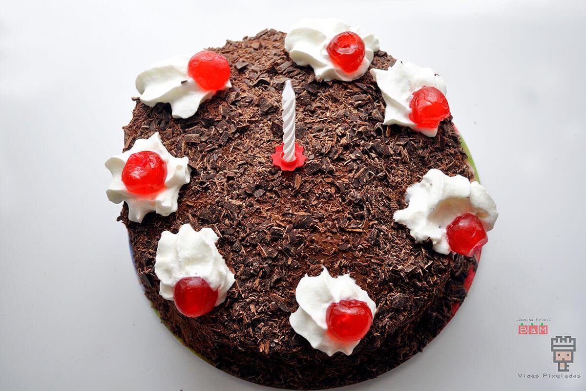 receta del pastel de Portal