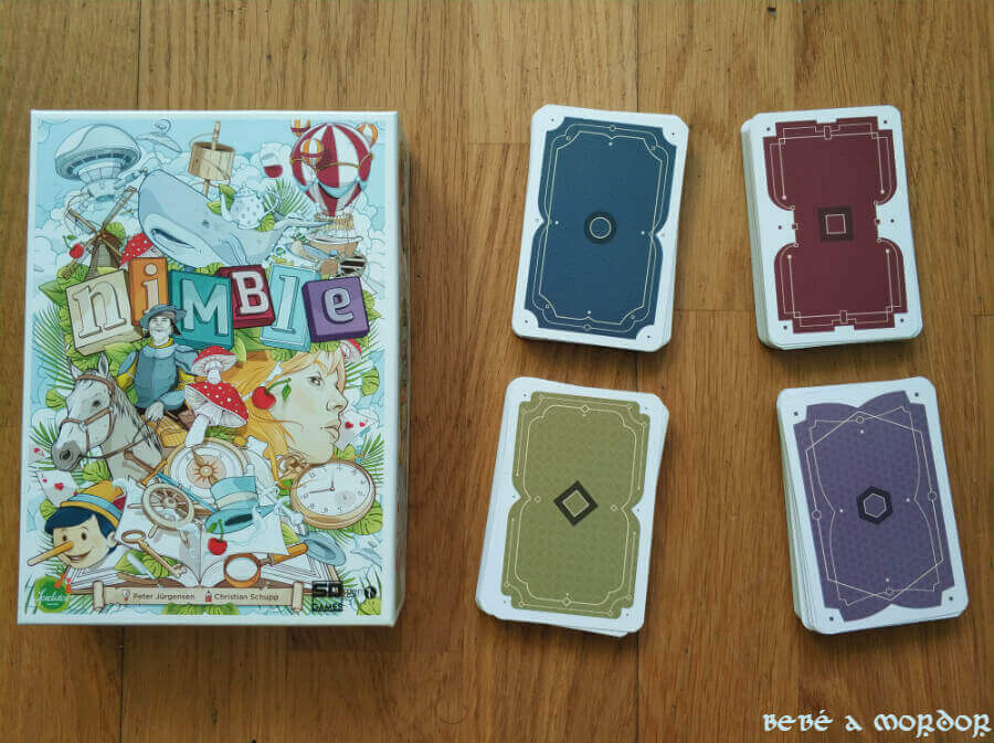 Reverso cartas Nimble