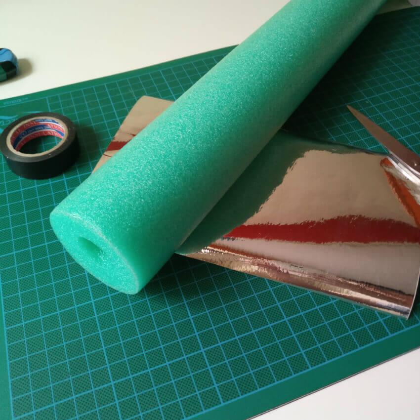 Materiales Sable laser Star Wars DIY