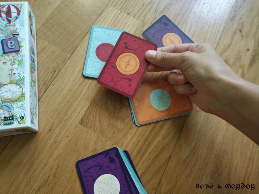 como se juegan las cartas de Nimble