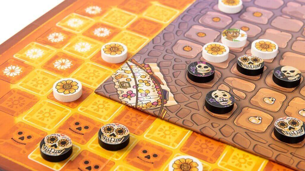 Tableros Adiós Calavera de Tranjis Games para Vivos y Muertos