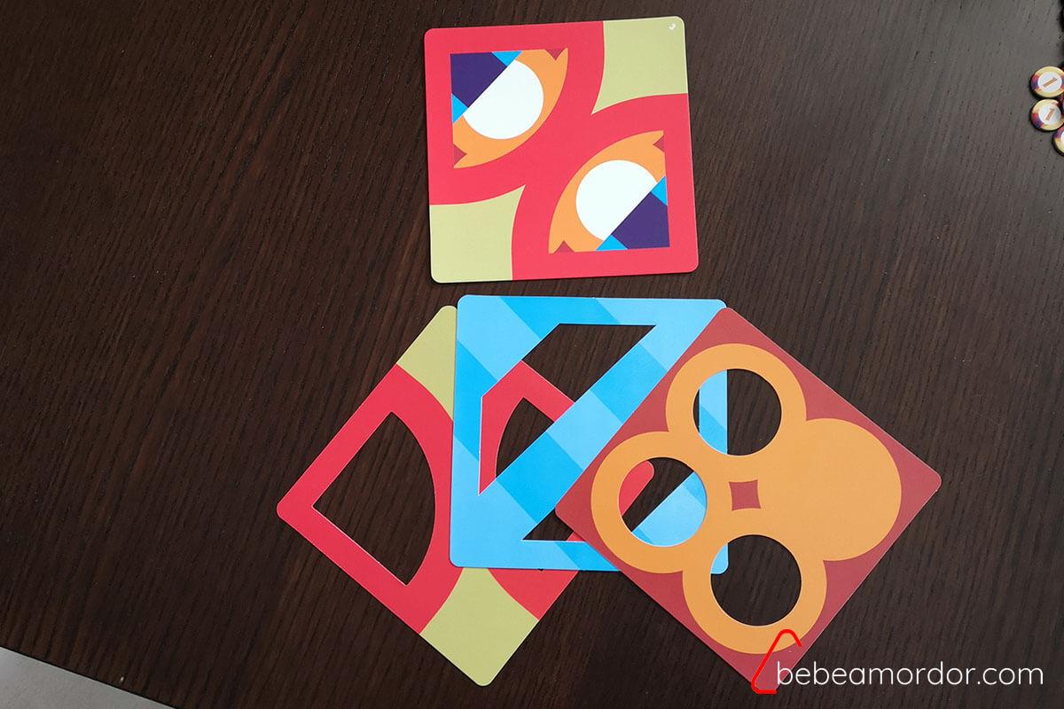 patrón de 3 capas y capas