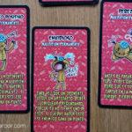 cartas de maldición permanente rojas juego de mesa VUDÚ
