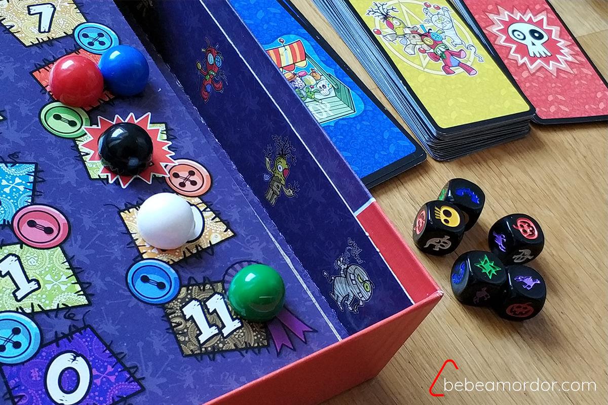 reseña cómo se juega juego de mesa VUDÚ