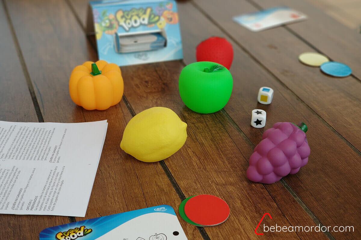 preparación juego y componentes
