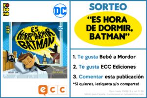 cómic de Batman para niños sorteo
