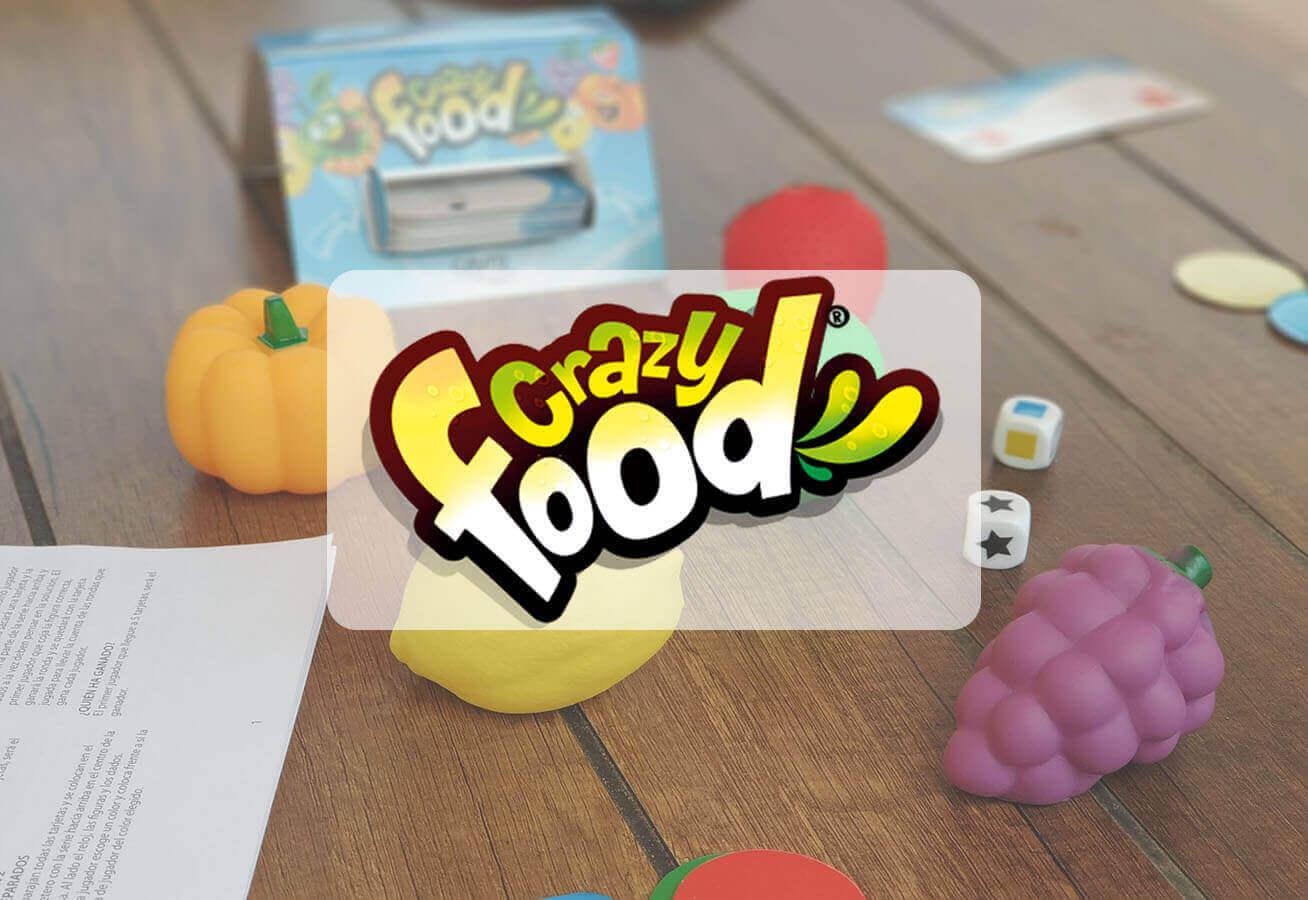 portada reseña cómo se juega al juego de mesa Crazy Food