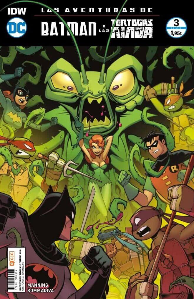 Las aventuras de Batman y las Tortugas Ninja portada 3
