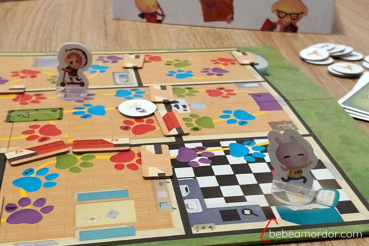 fin del juego de mesa Solos en casa