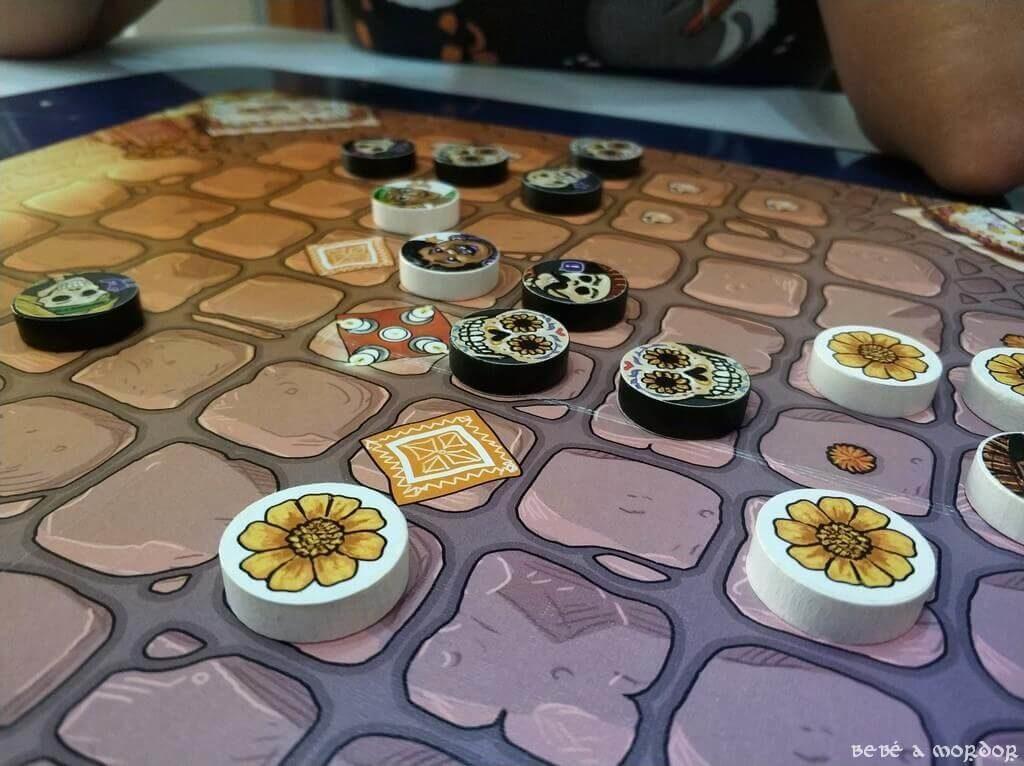 habilidades juego de mesa Adiós Calavera